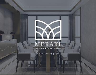 MERAKI - Interior Design Studio | Brand Identity
