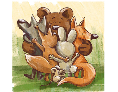 Friends from Forest