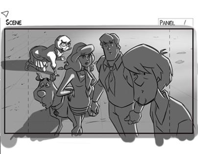 Scooby Doo! Mystery Inc. Storyboards