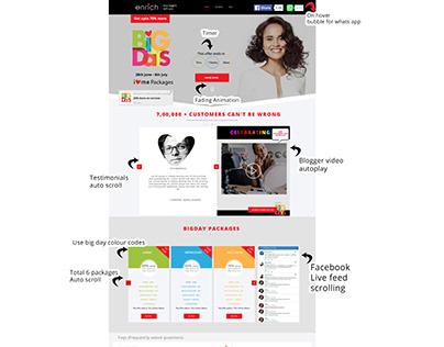 Enrich Bigdays Digital Campaign