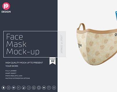 Face Mask V2 Mockup