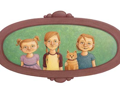 Framed Portrait Series