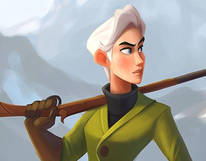 Character design - huntress