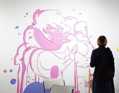 2C4C First Step: BREAK SILENCE/// Art Exhibition