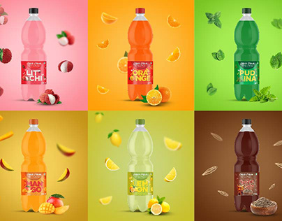 Packaging Design - Cold Cola Soft Drinks