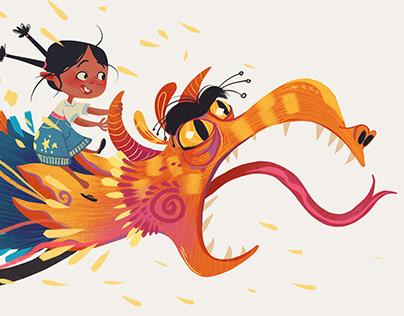 Papel Maché |My friend, the paper mache Dragon