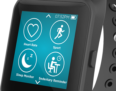 Qilive Smartwatch / Device  + Application UI