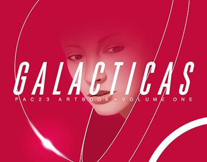 GALACTICAS VOL. 1 Art Book on sale!!!