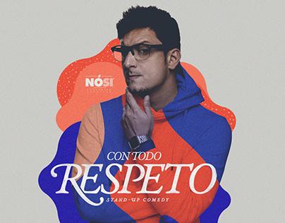 """""""Con todo respeto"""" rebrand"""