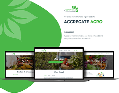 Aggregate Agro - Online grocery for organic food