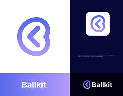Ballkit Logo design - Modern Logo design