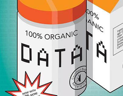 100% ORGANIC DATA - Poster