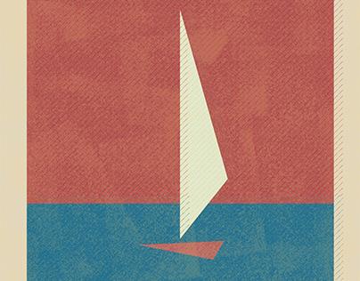 Sailboat matchbox