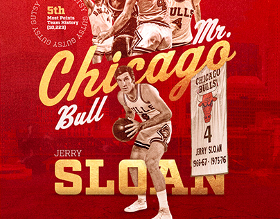 """Jerry Sloan """"Mr. Chicago Bull"""" (Personal) - 2020"""
