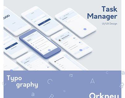 Task Manager Mobile Design