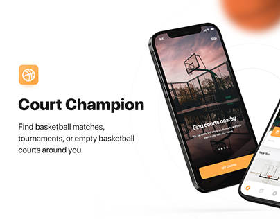 COURT CHAMPION - UI/UX DESIGN - MOBILE APPLICATION