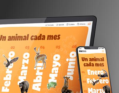 Barcelona's Zoo website redesign proposal