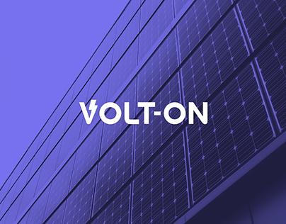 Volt-On Solar Energy Brand Identity