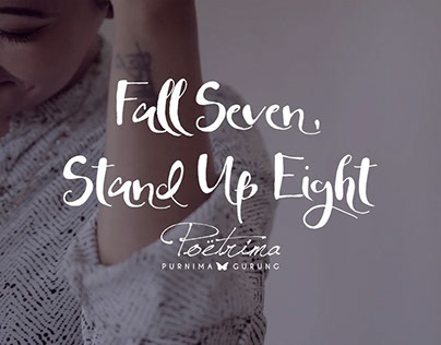 Fall Seven, Stand Up Eight - Poetrima
