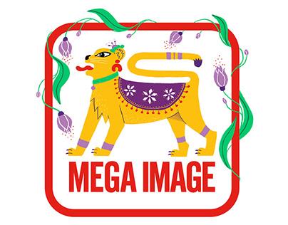 Mega Image Spring Logo
