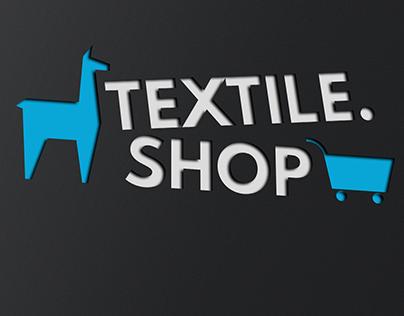 Textile.Shop logo design