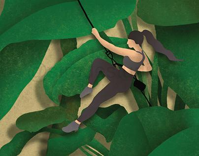 Plant climber