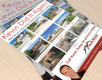 Kevin Bowes Realty Group 8.5x11 Flyer Design