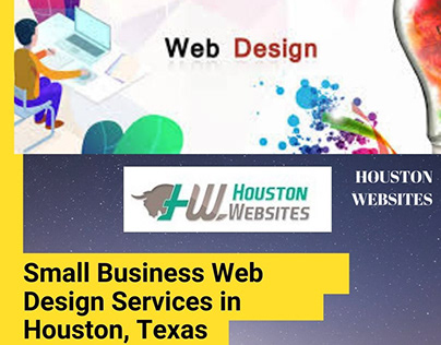 Small Business Web Design Services in Houston, Texas.