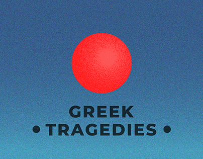 Greek Tragedies - Minimalistic Posters