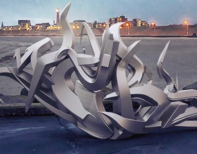 Webs 3D metal