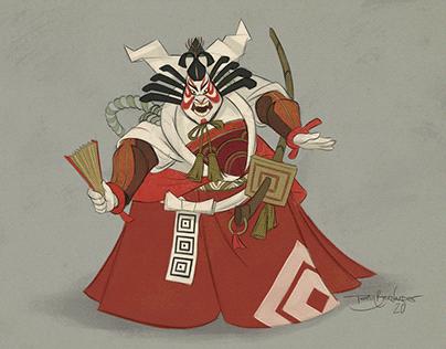 Kabuki Character