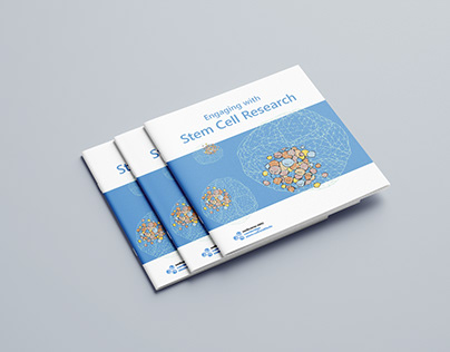 Engaging with Stem Cell Research, brochure & drawings