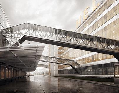 Van Nelle Factory UNESCO // CGI