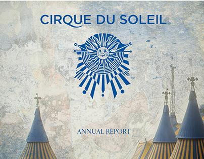 CIRQUE DU SOLEIL (PRINT) ANNUAL REPORT