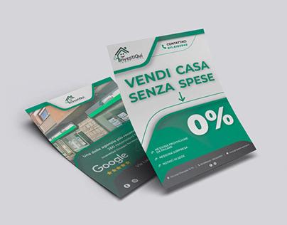 Grafica Flyer InvestiQui Torino
