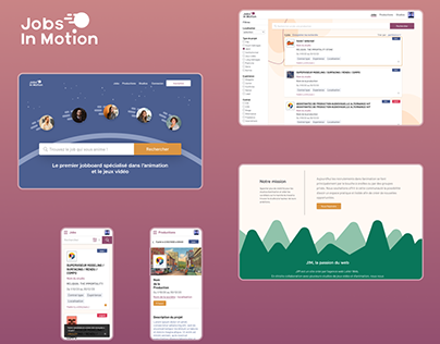 Jobs In Motion :: Recruitment platform