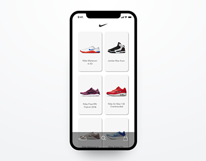 Nike Mobile App Concept