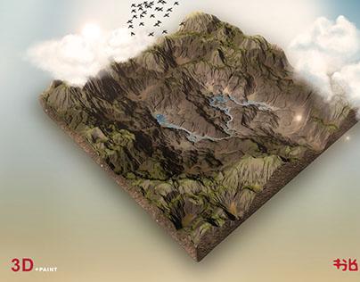 World Machine 3D + Photoshop
