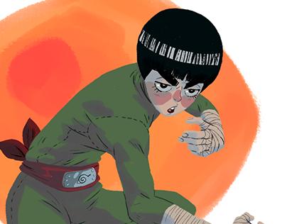 Simple Illustration - Naruto Characters