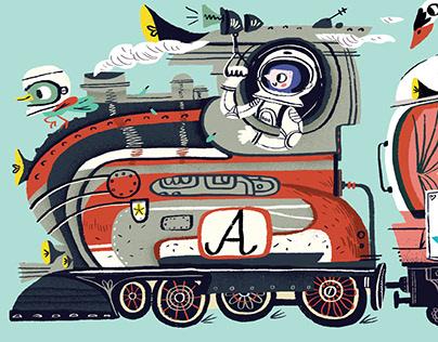 Puzzle: Alphabet Train