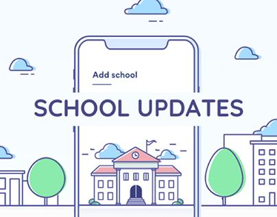 School Updates - iOS & Android App