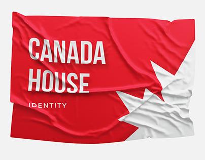 "BRANDING :: Construction company ""Canada House"""