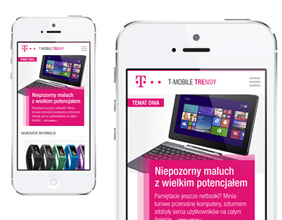 T-Mobile Trendy / proposal