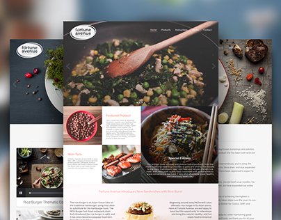 Concept Fortune Avenue Website