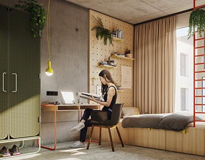 Basecamp Dortmund - Student Rooms & Hotel