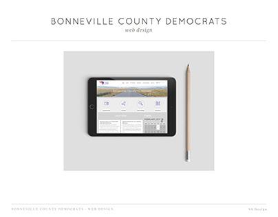 Bonneville County Democrats | Website Design