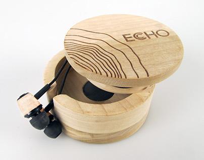 Echo Earbuds (Industrial/Package design)