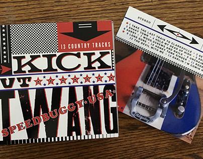 Speedbuggy USA - Kick Out The Twang CD