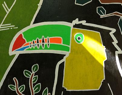 Mural Tucan