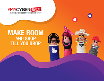 #MYCYBERSALE — MAKE ROOM AND SHOP TILL YOU DROP